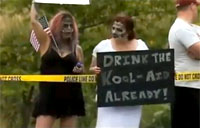 Zombies Protest Westboro Church