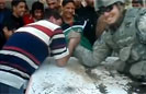 Soldier vs. Iraqi at Arm Wrestling
