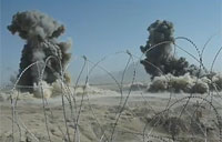 4,000lb Bombs Smash Taliban Positions