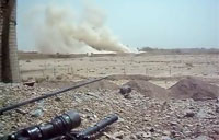A-10 Gun Run on Taliban Position