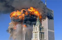 Rare New Footage of 9-11 WTC Attack
