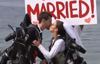 Cool Jetpack Wedding in California!