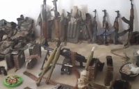 Rebels Raid, Capture Weapons