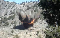 Taliban Bunker Smashed by 2 JDAMs