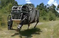 Boston Dynamic's Rough-Terrain Robot