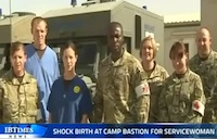 Shock Birth at Camp Bastion!