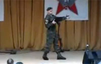 Russian Soldier Electro River Dance