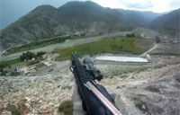 Soldier Survives Taliban Machine Gun Fire