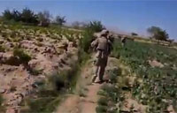 Taliban Ambush Troops in Open Field