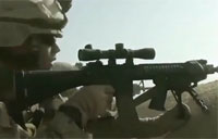 Troop Survives Taliban RPG Impact