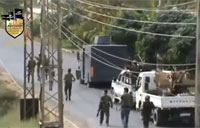 Free Syrian Army IED Attack Fail