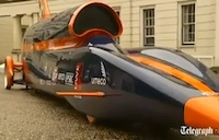 Supersonic Car Aims for 1,000 MPH