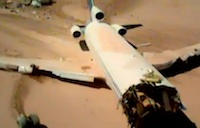 Boeing 727 Test Crash in the Desert