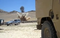IED Blown Up in Afghanistan