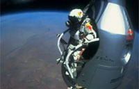 Man Sets Record with 130,000 ft Free Fall