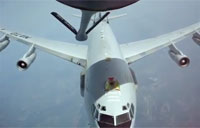 Crazy Near Miss During Air Refuel