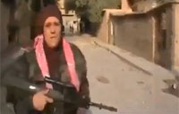 Armed FSA Nurse on the Frontlines