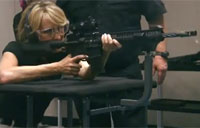 Reporter Fires Some Awesome Rifles!