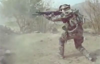 Intense French Paratrooper Firefights