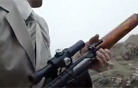 Kurdish Sniper Wants to be James Bond