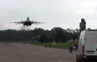 Unbelievable MiG-29 Low Pass