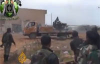 Syria Rebels Capture Large Military Base