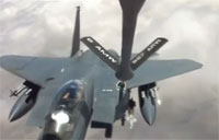 Killer F-15 Wave Off After Refuel