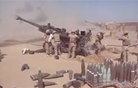 Marines M777 Howitzer Fire Mission