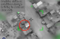 IDF Strike on Munitions Storage Site