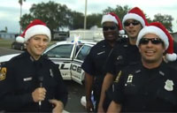 Cops Sing Christmas Crime Carol