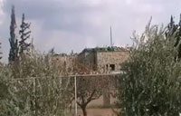 FSA Missile Strike on Hbihh Barracks