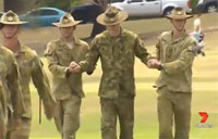 Brave Brisbane Soldier Walks Again