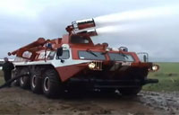 Extreme Russian Fire Engine Vehicle