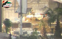 SAA T72 Crewman Nearly Hit by Sniper
