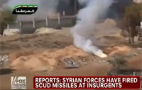 Syrian Army Fires Scuds at Rebels