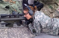 Sighting the Barrett .50 BMG M82 CQB