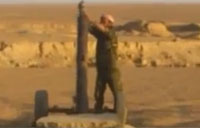 FSA Soldiers Test Homemade Mortars