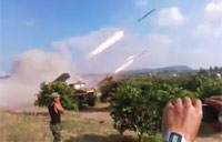 Rebels Launch a Few Rockets