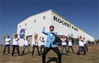 NASA Johnson, Gangnam Style!
