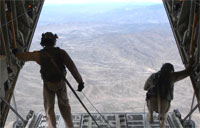 C-130J Afghanistan Air Drop