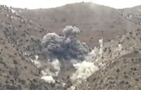 JDAM Drop on Taliban Mortar Team
