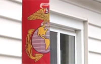 Burglar Breaks Into Marine's House!