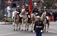 USMC Band at 2013 Rose Parade