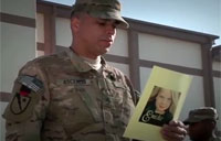 Sandy Hook Ceremony in Afghanistan