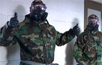 Marine Corps Gas Chamber Training