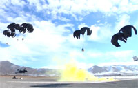 Air Drop at FOB Thunder