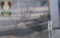 FSA Battalion Lights Up SAA Tank
