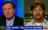 Ret Marine Talks Gun Control on CNN