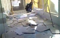 Aleppo University Bombing Aftermath