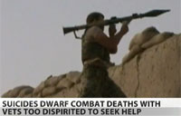 Army Suicides Dwarf KIA Casualties